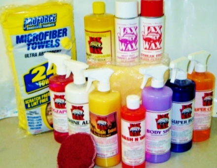 Deluxe Spring Cleaning Car Wash Prize Pack