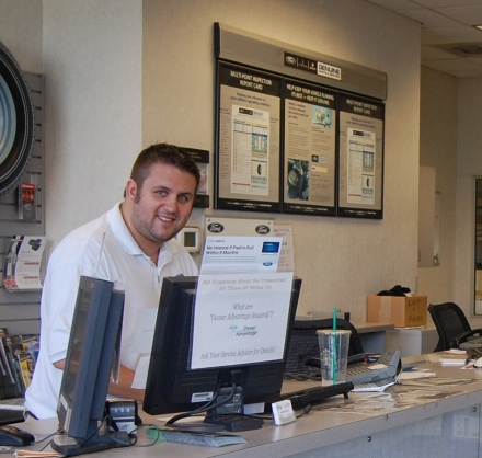 Scott Wenzel, one of our great, friendly service advisors