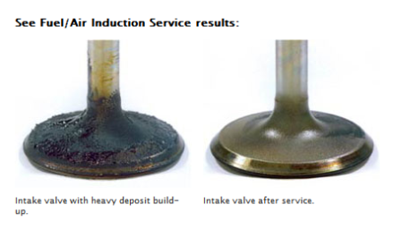 Intake Valves Before & After