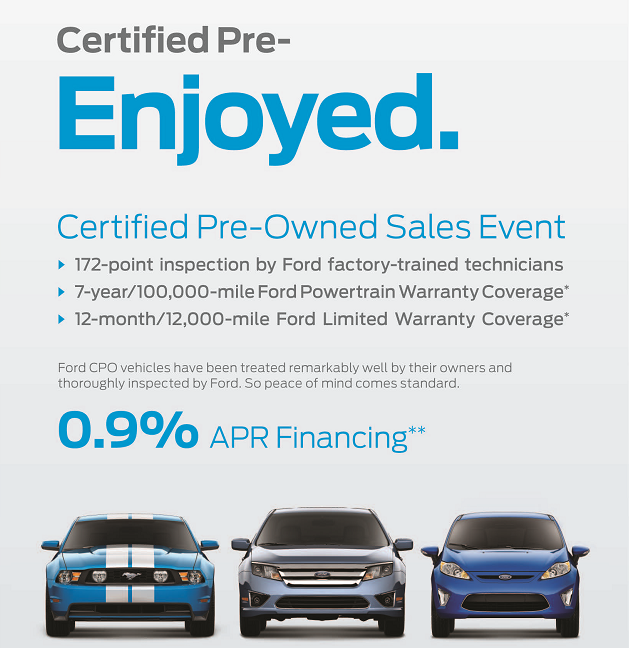 Certified Pre-Owned Sales Event  sc 1 st  Academy Ford Advantage & Certified Pre-Enjoyed u003d Certified Pre-Owned | Academy Ford Advantage markmcfarlin.com