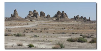 Escape Challenge at the Trona Pinnacles