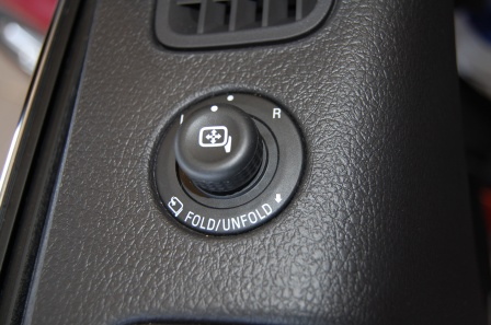 PowerFold Exterior Side Mirror Control