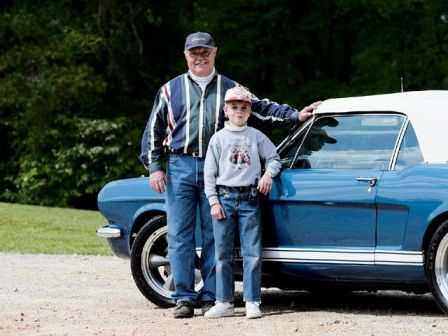 Ford Mustang Father Son Project