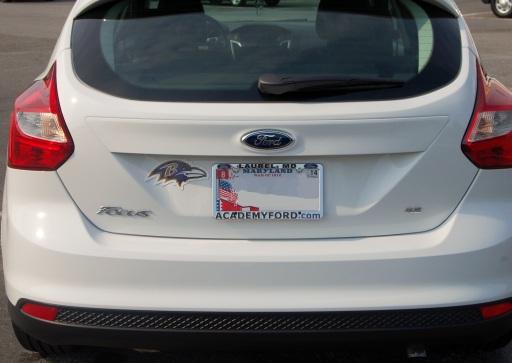 2012 Ford Focus SE Sport Hatchback