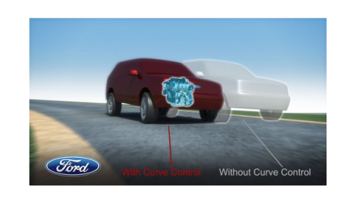 Ford Curve Control, Roll Over Prevention Technology