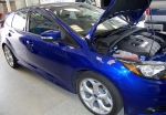 """2013 Ford Focus ST, featuring a closer look at the Unique 18""""Alloy Wheels with Y-Rated Summer Tires"""