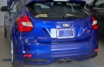 2013 Ford Focus ST, featuring a closer look at the Center Dual Exhaust with Bright Tips