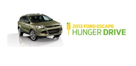 2013 Ford Escape Hunger Drive