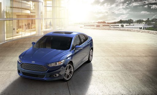 2013 Ford Fusion, Deep Impact Blue