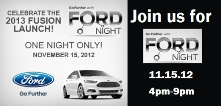 Go Further with Ford Night