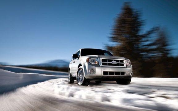 Ford Escape Snow Driving
