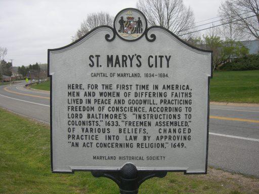 St. Mary's City
