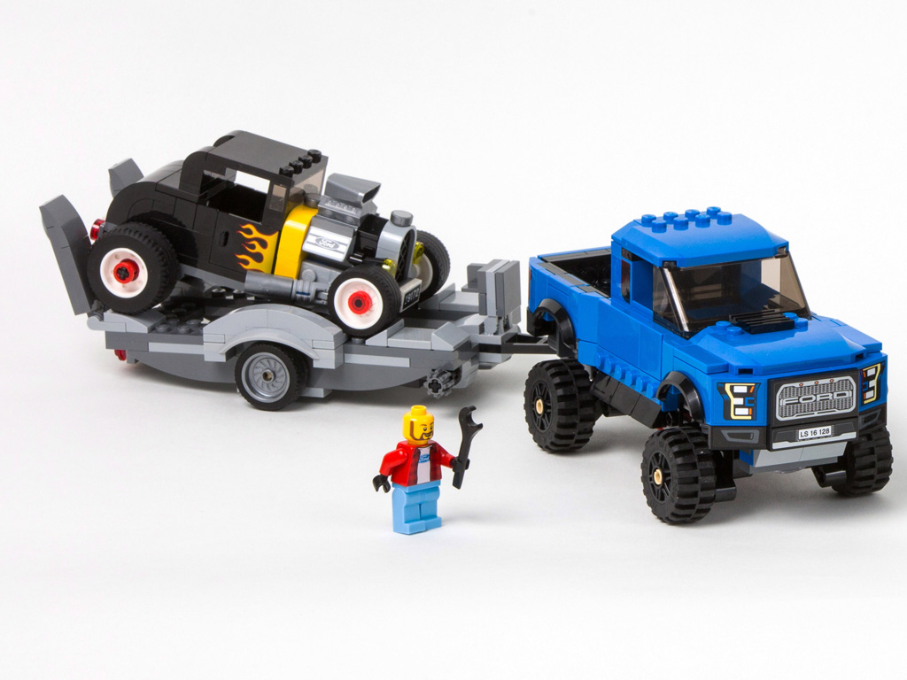 for kids wanting to build their dream car ford mustang and f 150 raptor lego speed champions sets are now available kids ages seven and up